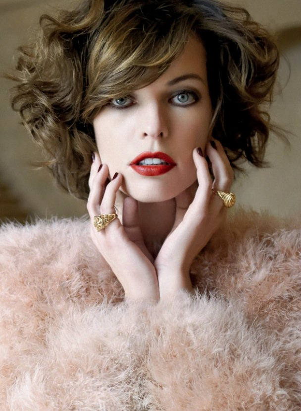 Mila Jovovich By Photographer Eric Guillemain For S Moda