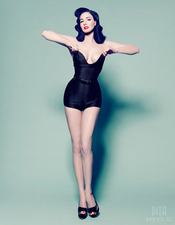 GEORGES ANTONI for Madison, Dita Von Teese