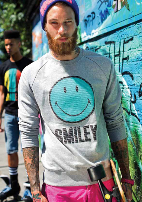 Billy Huxley In Smiley London