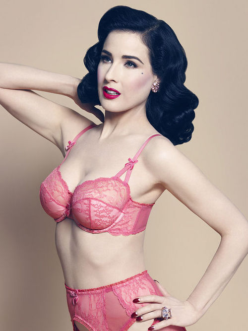 Photography By Georges Antoni For Von Follies by Dita Von Teese