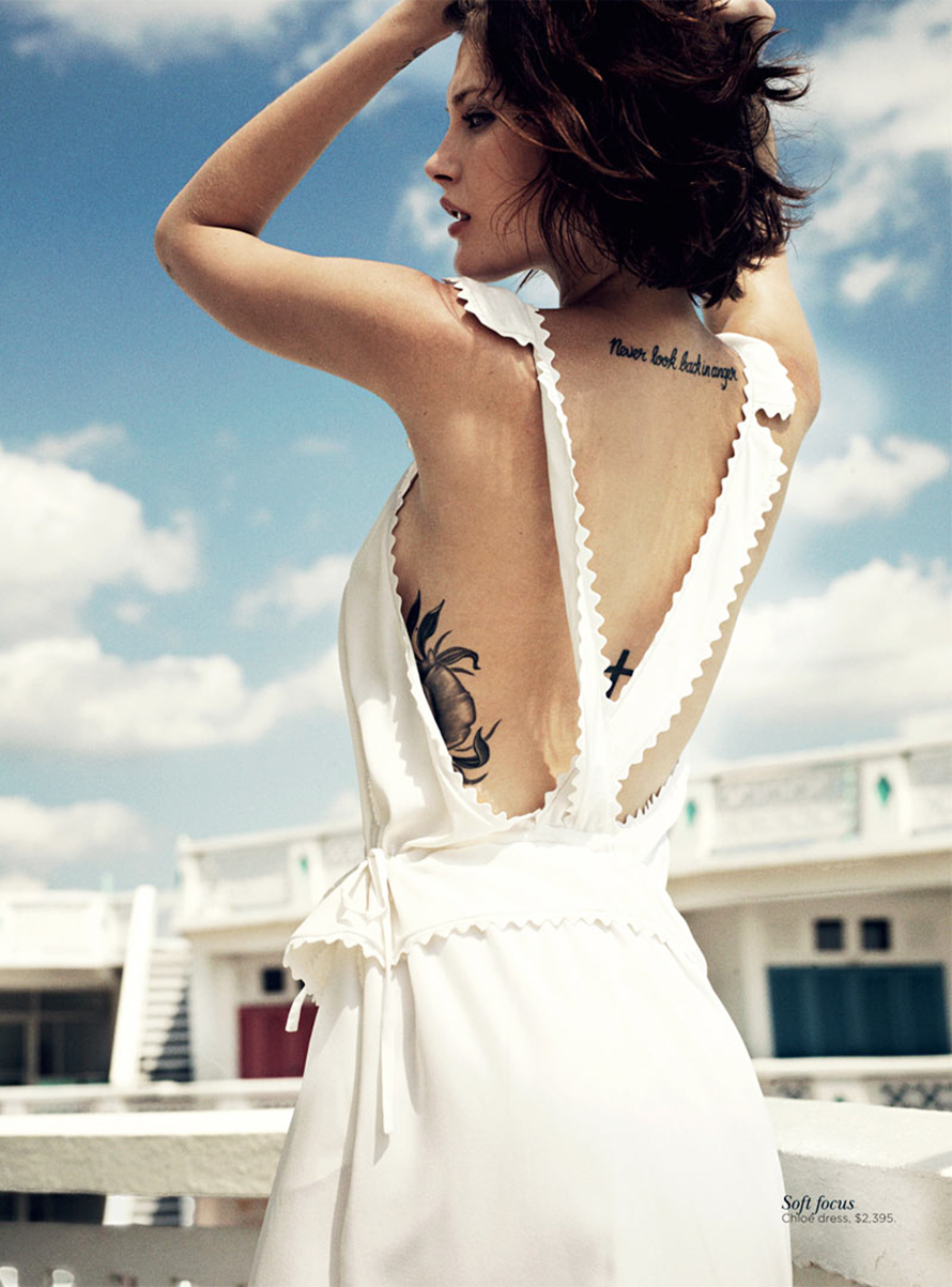 Catherine McNeil By Benny Horne for Vogue Australia November 2012