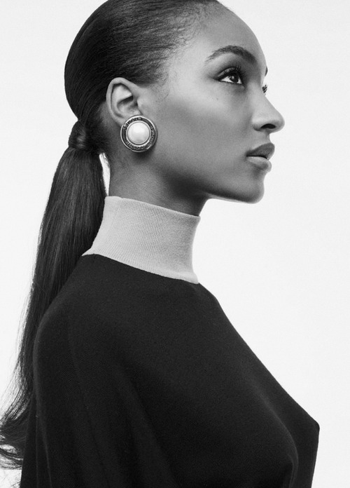 Jourdan Dunn photographed by Benny Horne for Russh In June/July 2013