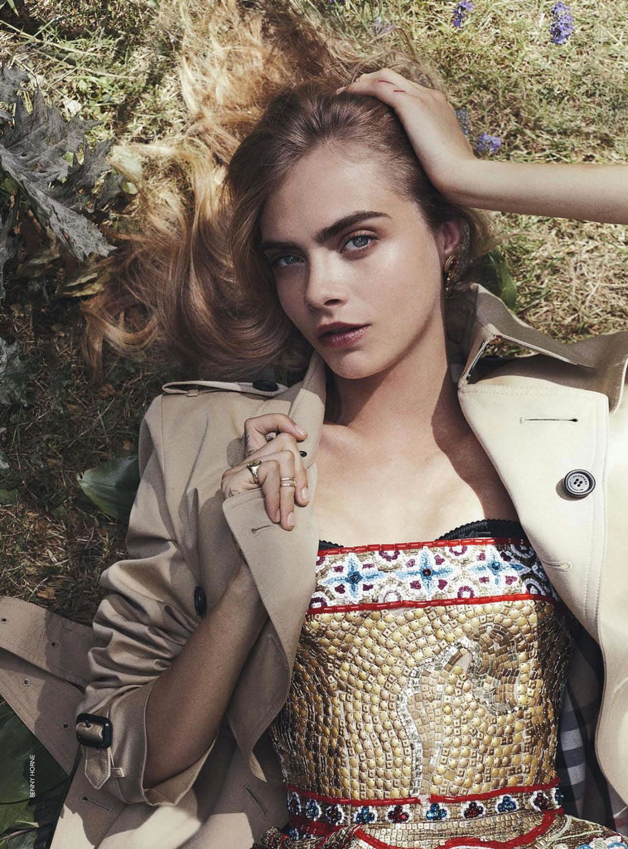 Cara Delevingne photography by Benny Horne for Vogue Australia, October 2013