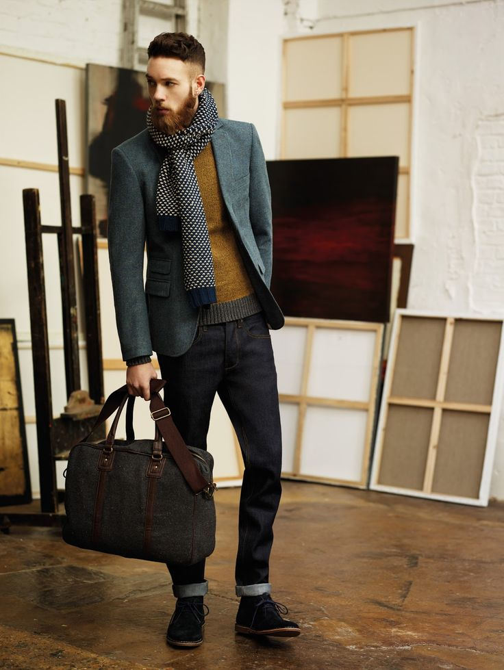 Billy Huxley for Burton Menswear Autum/Winter2013