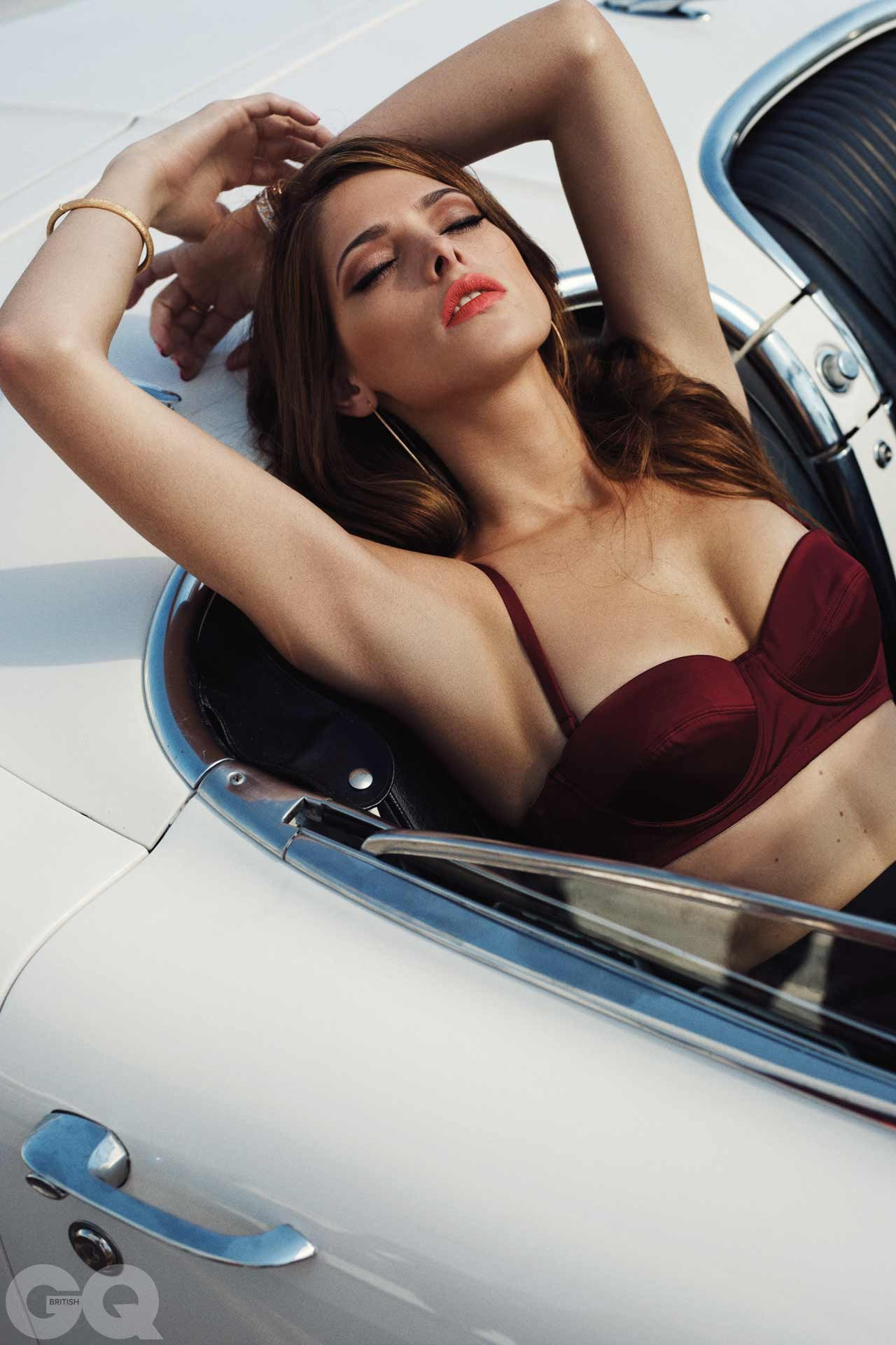 Actress Ashley Greene From Twilight Photography By Benny Horne For GQ Magazine