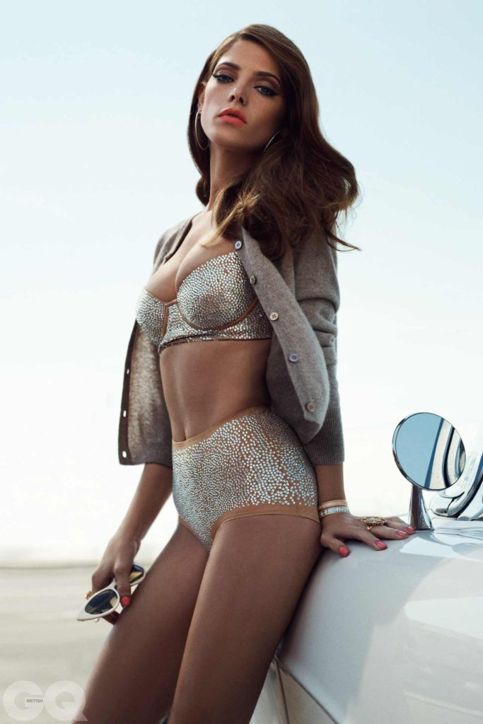 Twilight Actress Ashley Greene Photography By Benny Horne For GQ Magazine