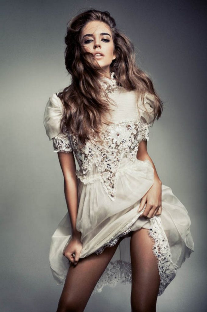 Clara Alonso For GQ Russia Photographer Danil Golovkin On Just The Design