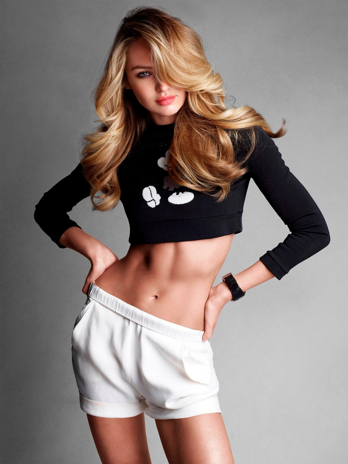Model Candice Swanepoel In Vogue Australia June 2013