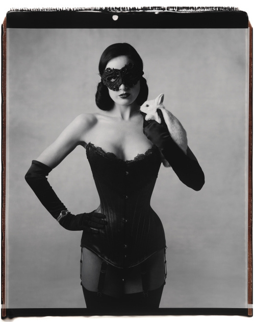 Dita Von Teese By Mary Ellen Mark For Harpers Bazaar