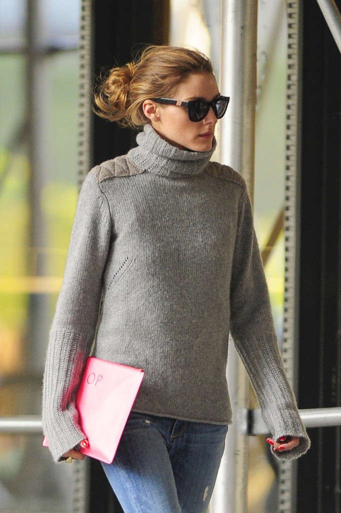 Model Olivia Palermo In Brooklyn New York