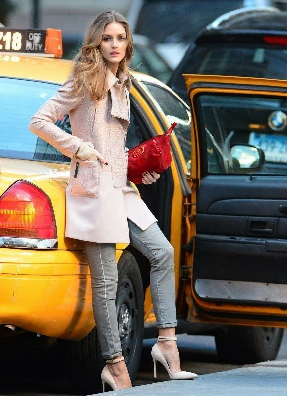 Olivia Palermo Pretty In Pink
