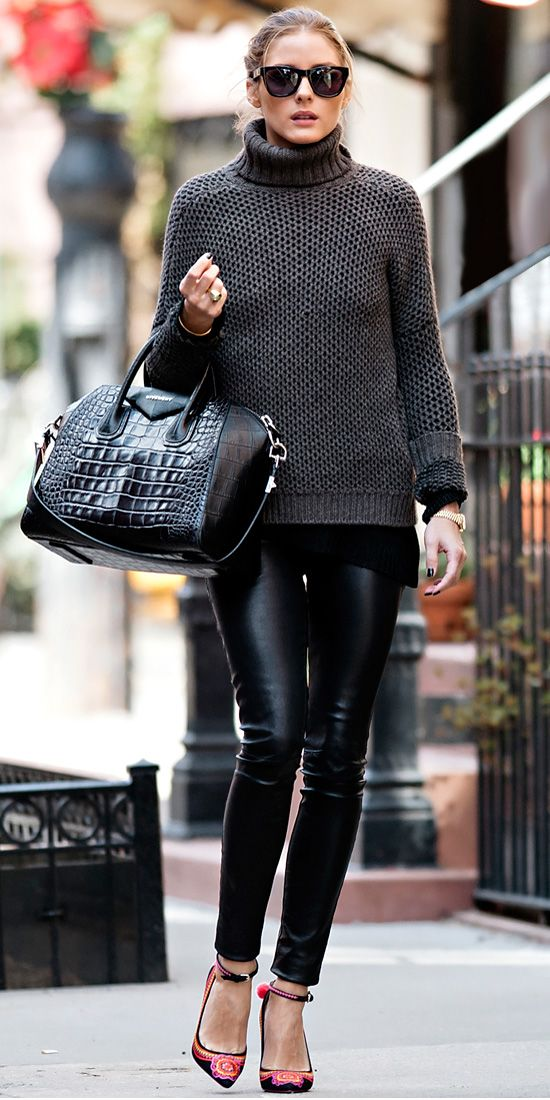Model Olivia Palermo Street Style 2013 Shoes By Caroline Issa