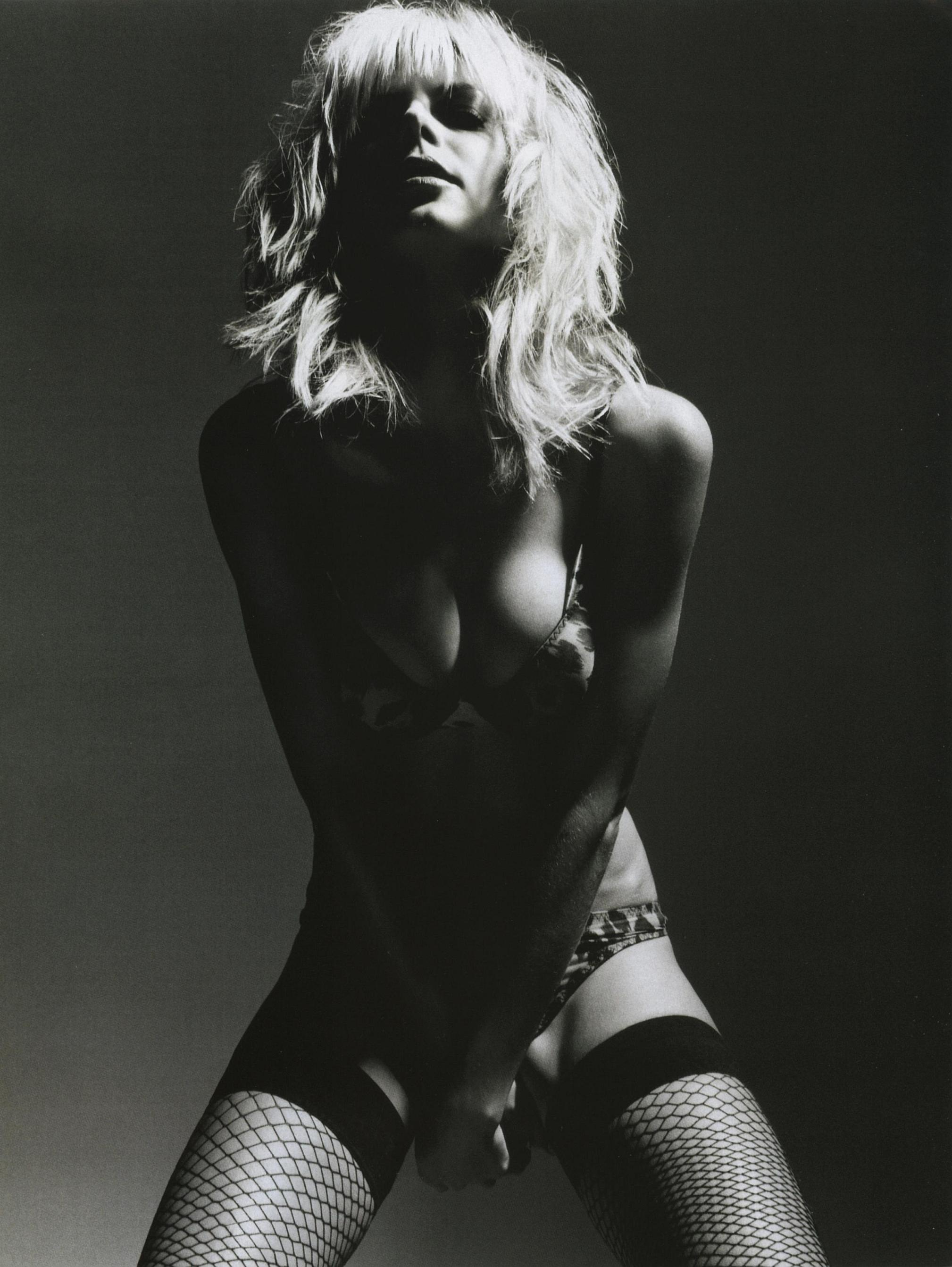 Heidi Klum Black & White By John Rankin Waddell