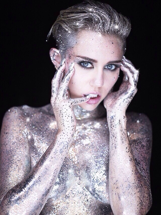 Miley Cyrus By Photographer Rankin