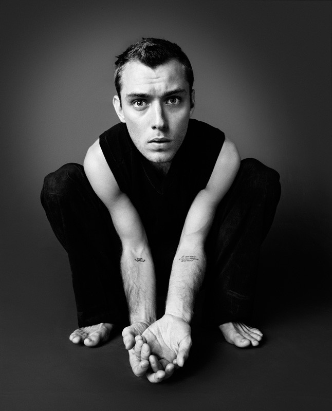 Jude Law Photographed By Rankin