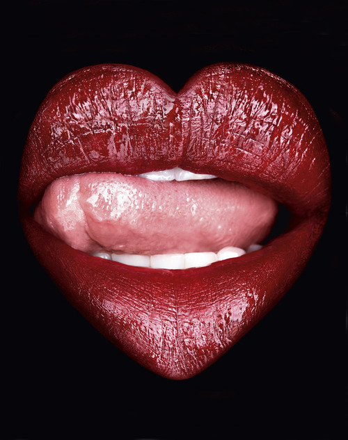 Heart Lip By Rankin Via JTD