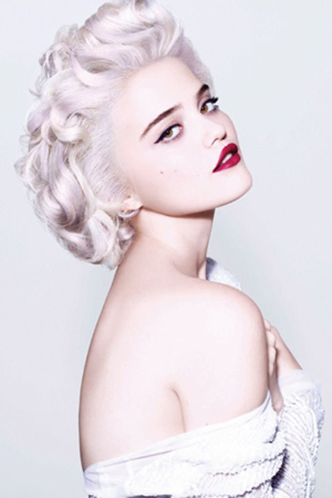 Sky Ferreira For Redken Styling Photography By Riccardo Tisci