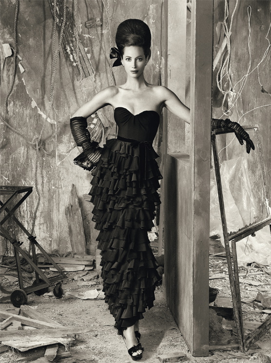 Christy Turlington By Steven Meisel Vogue Italia June 2010