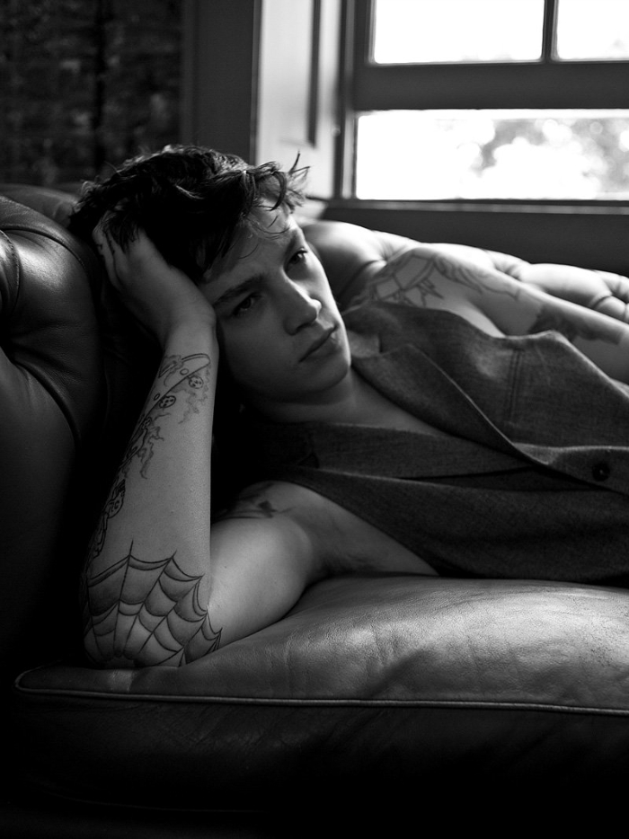 Model Ash Stymest For Fiasco Magazine