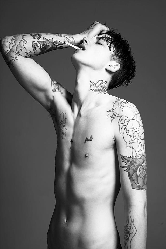 British Model Ashley Stymest By Damon Baker