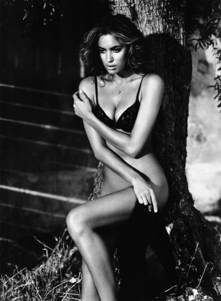 Irina Shayk For GQ Spain's December 2010 Issue