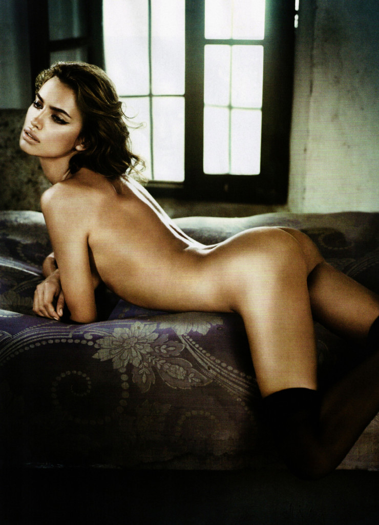 Russian Model Irina Shayk Photographed By Vincent Peters For GQ Spain's December 2010 Issue