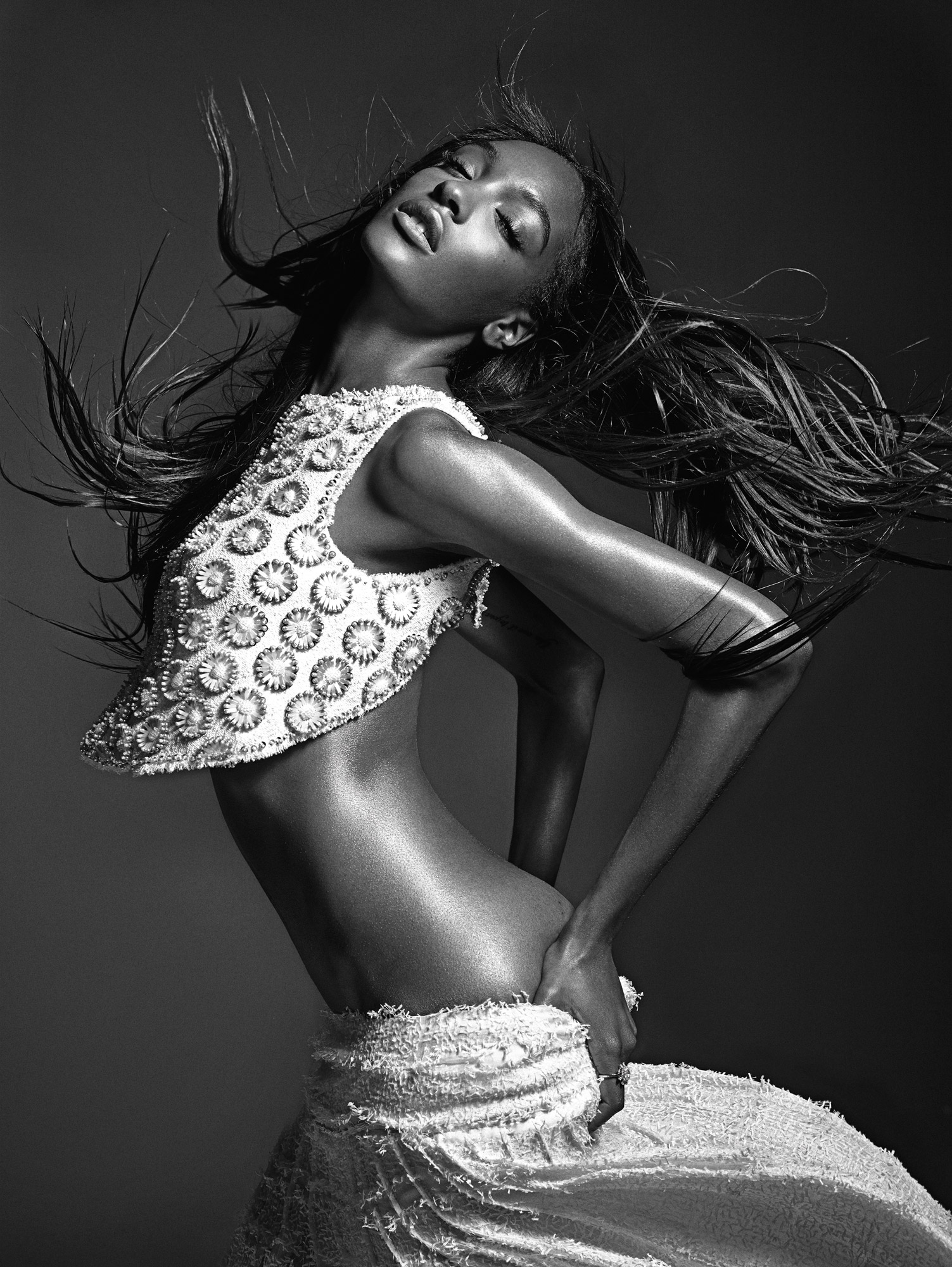Super Model Jourdan Dunn For W Magazine February 2014