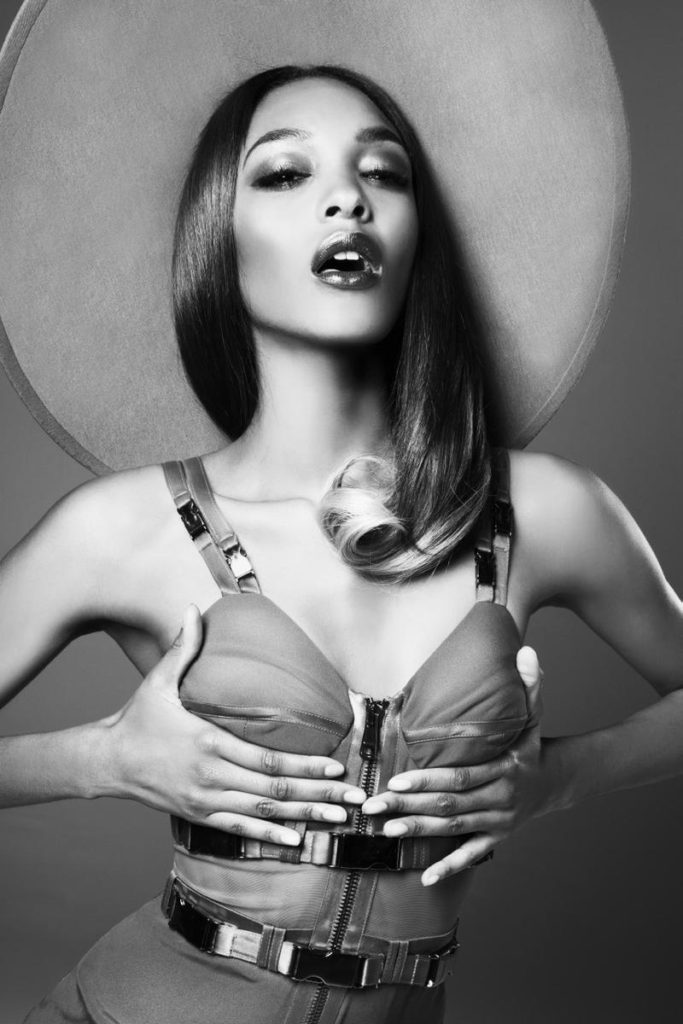 Model Jourdan Dunn By British Photographer Damon Baker