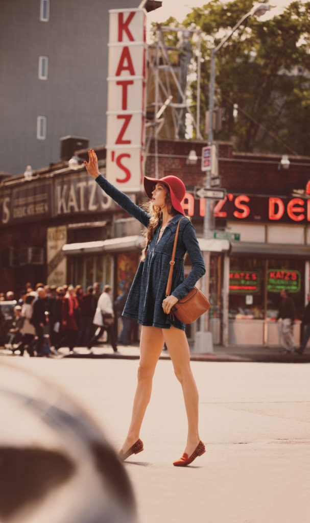 Model Karlie Kloss For The Free People Photography By Guy Aroch
