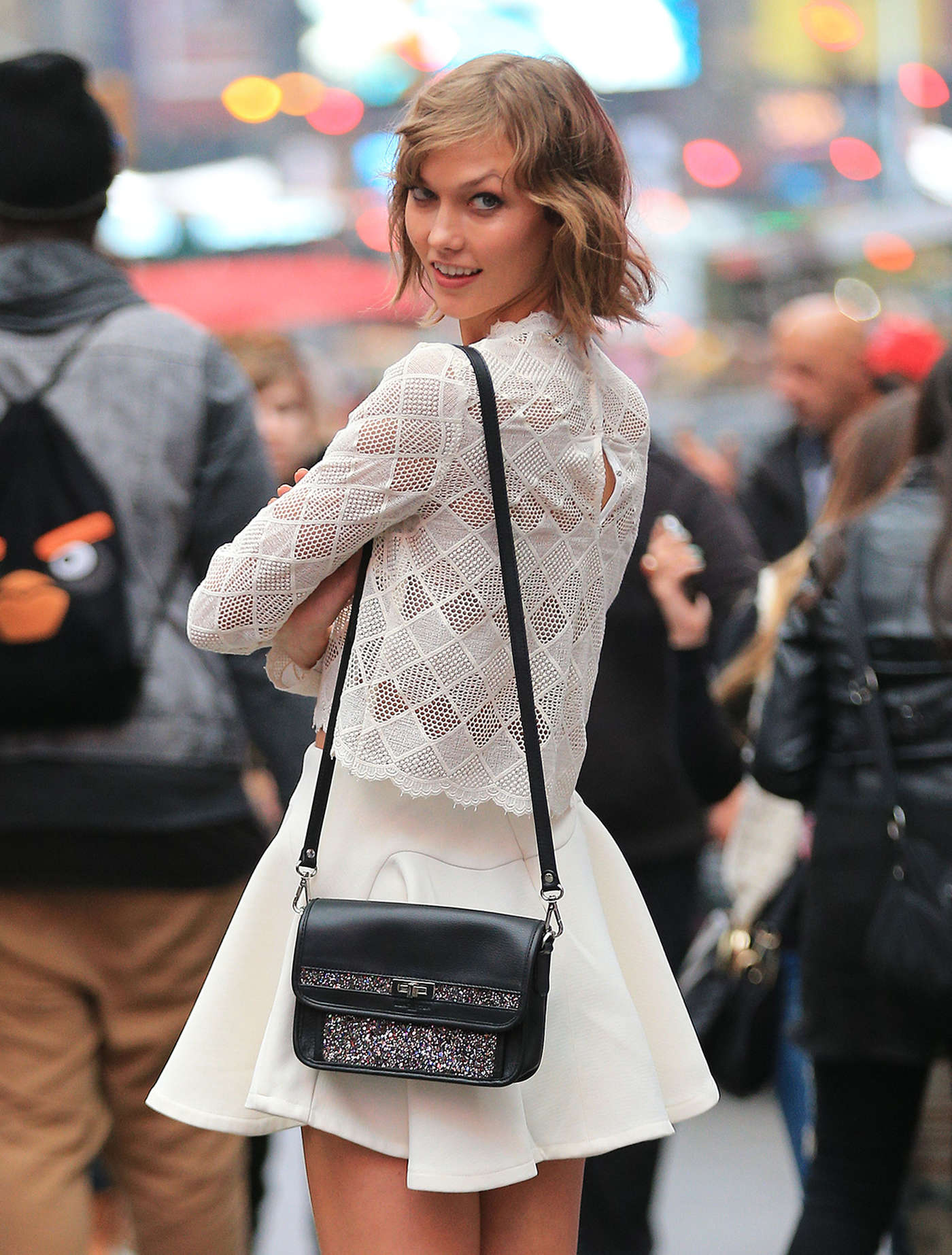Karlie Kloss Street Style In New York City Via