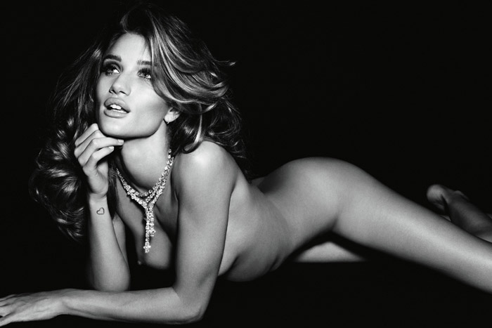 British Rosie Huntington-Whiteley Photography By Alexi Lubomirski for Vogue Germany November 2011
