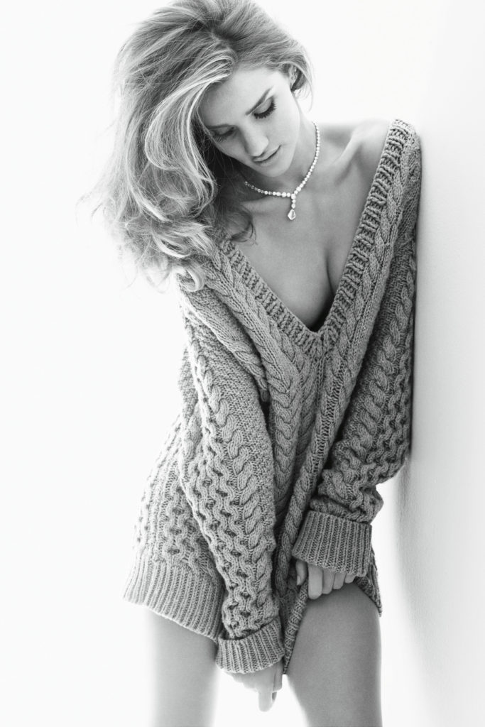 Rosie Huntington-Whiteley Photographed By Alexi Lubomirski for Vogue Germany November 2011
