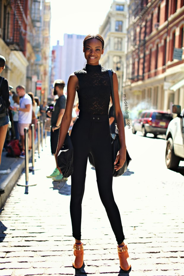 Model Maria Borges Goes Street Style in New York Photo Is From September 2013
