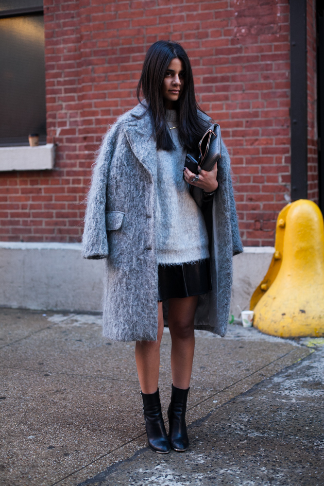 Street Style From New York Fashion Week. Photography By Stefania Yarhi