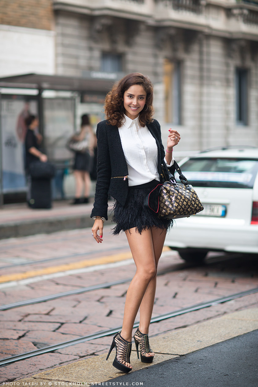 Gotta Love That Mini Skirt Via Stockholm Street Style