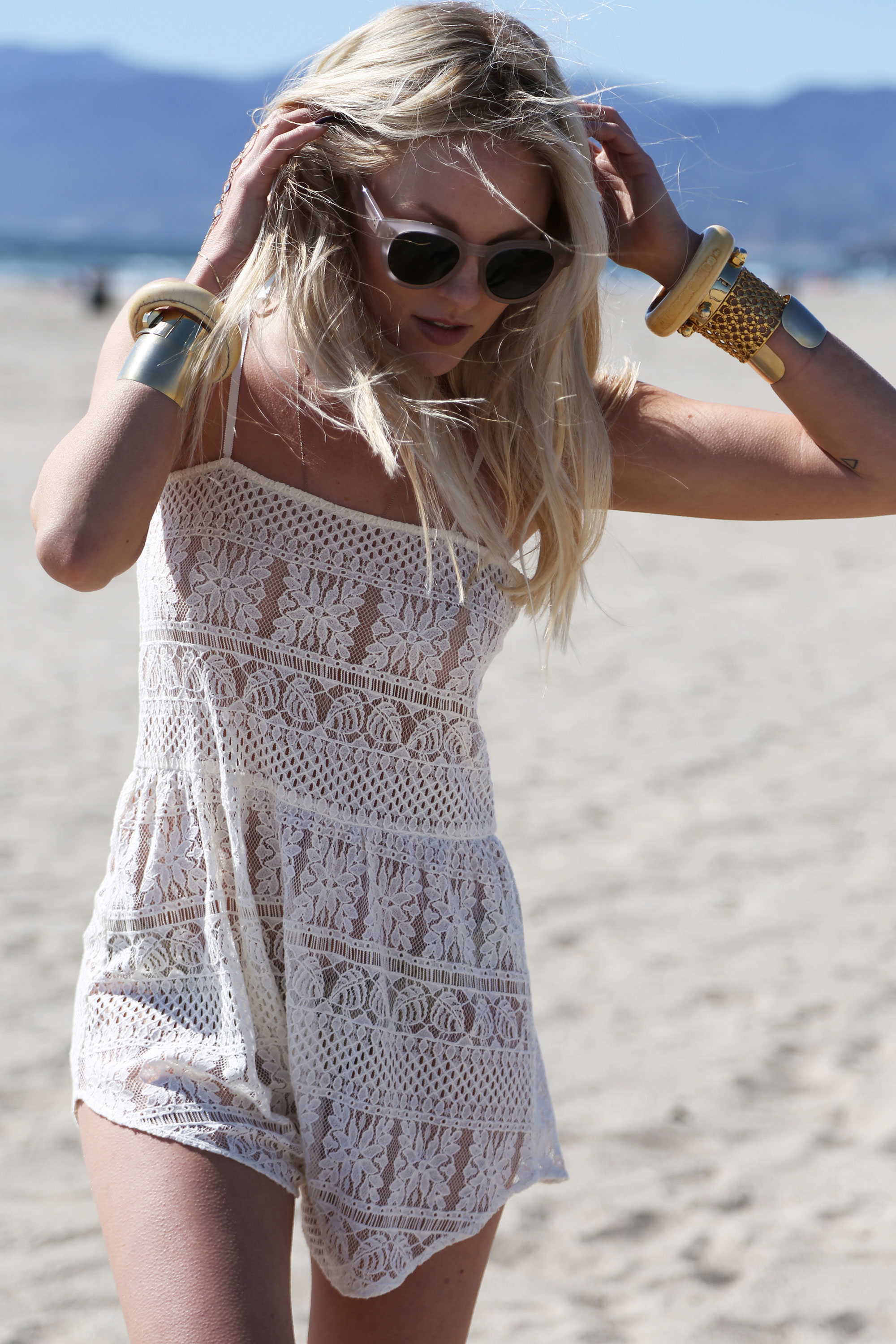 Lace Jumper From Zinke Via Peace Love Shea