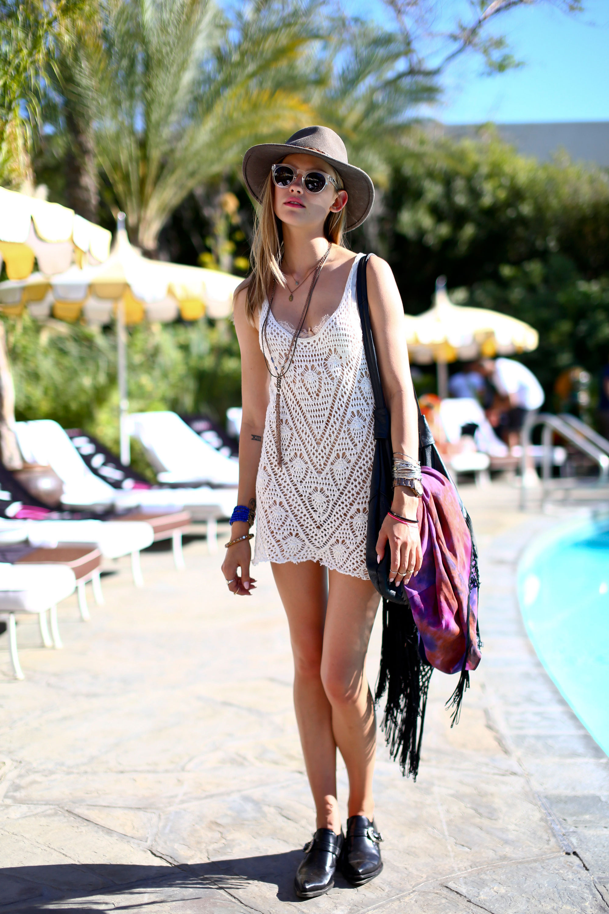 Coachella 2014, Love The Dress. Photography By Craig Arend For Harpers Bazaar