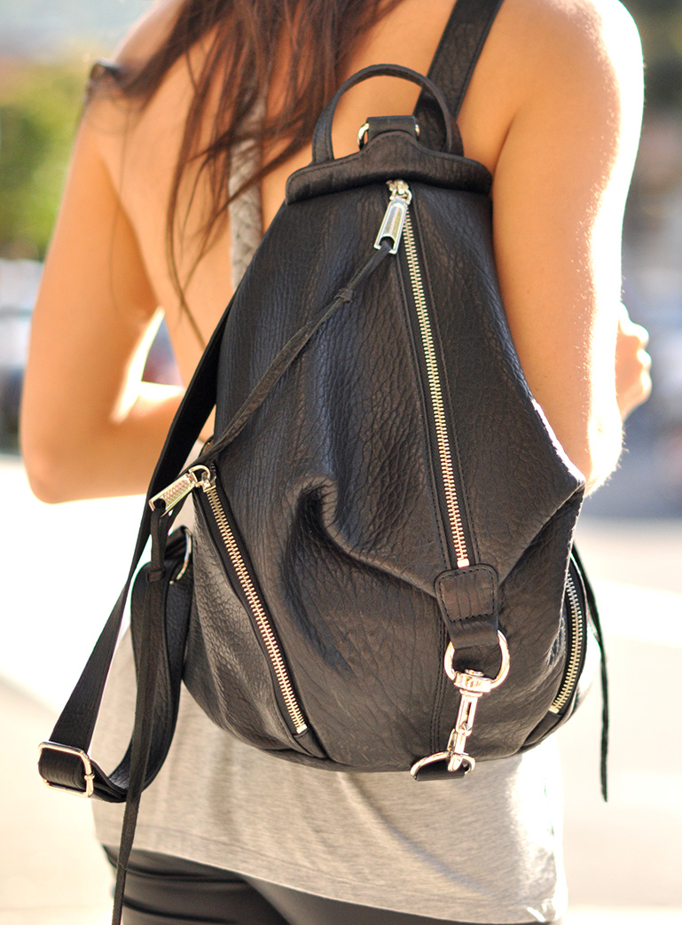 HapaTime Is Wearing Backpack from Rebecca Minkoff