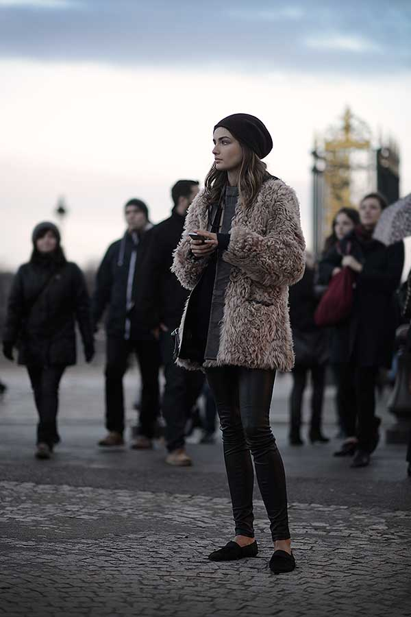 Street Style The Parisian Way March 7th 2014 Via StyleLovely
