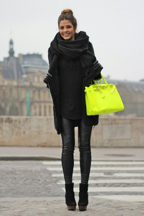 Love The Hermes Birkin Bag And The Scarf Unknown Model/Photographer