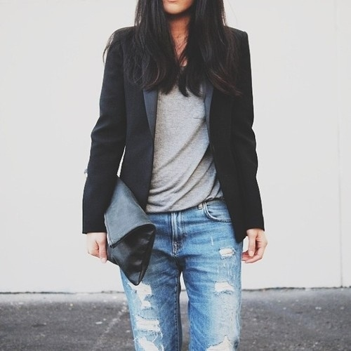 Distressed Jeans Look 2014 Via T Styled Me