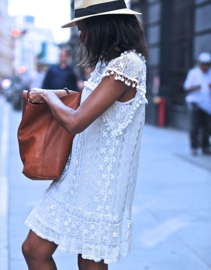 Get That Lace Sundress Ready Via SurfStitch