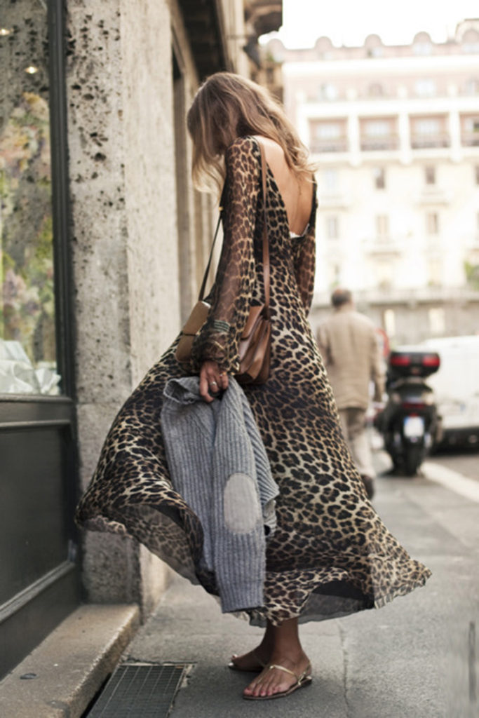 Leopard Print Dress Via Street FSN