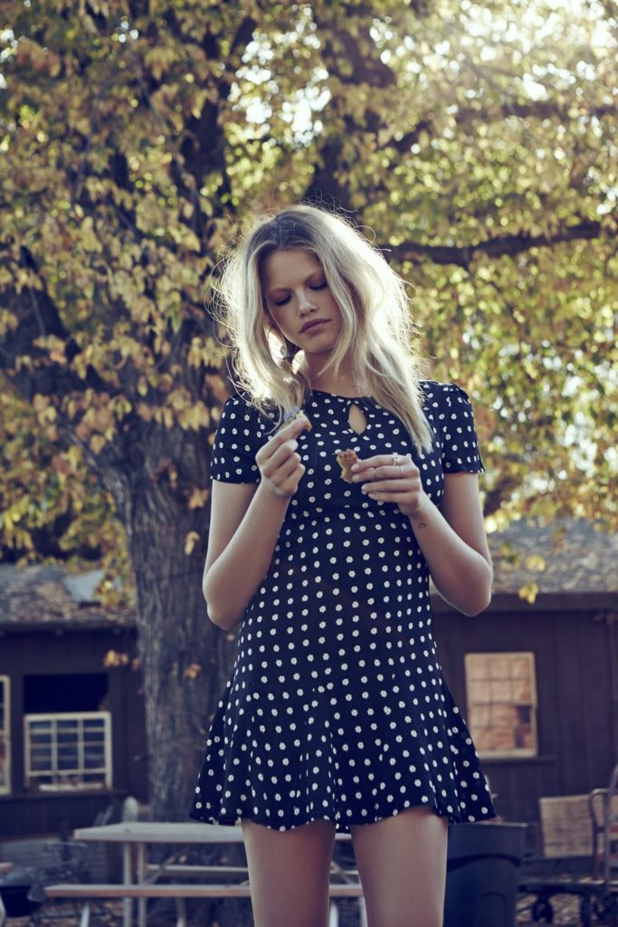 Polka Dot Dress By Love & Lemons