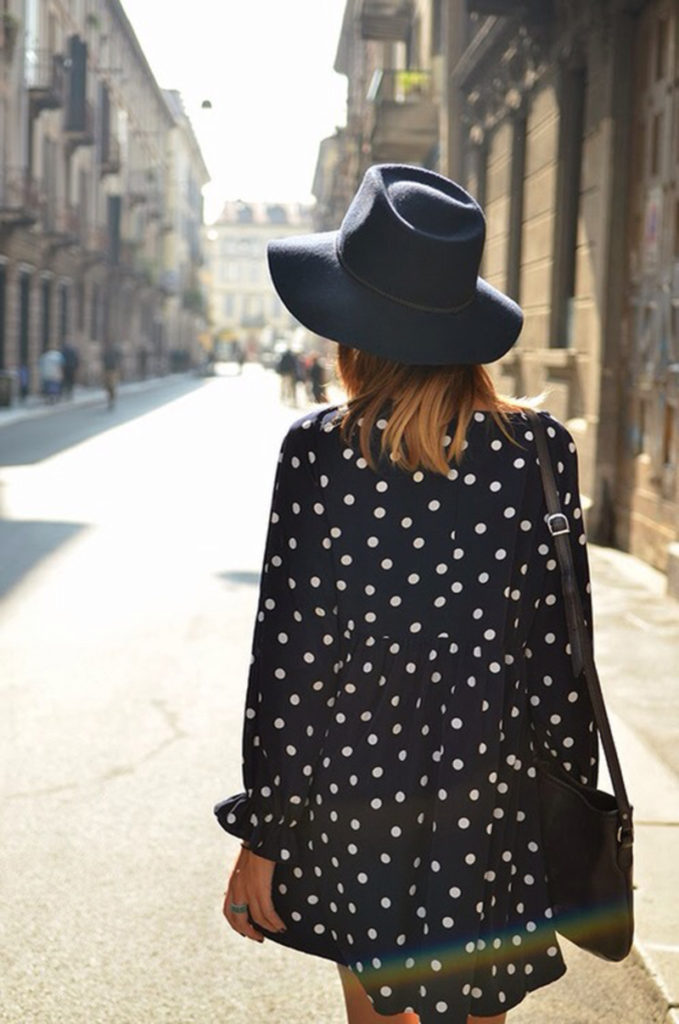 Polka Dots Top Unknown Model/Photograher