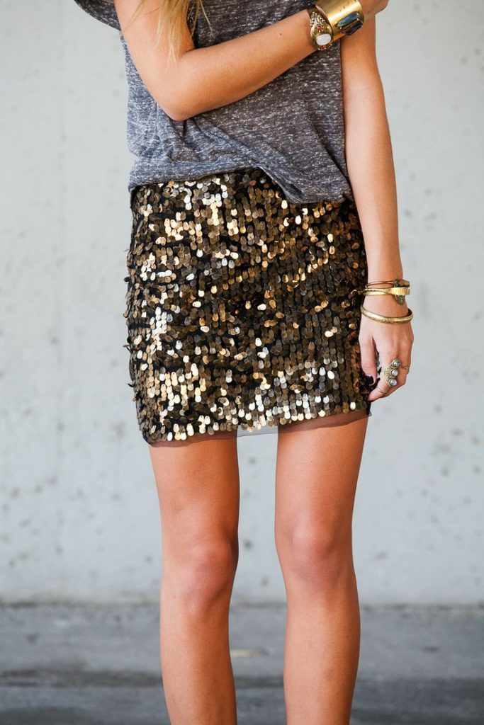Sequin Skirt From The Oxford Trunk