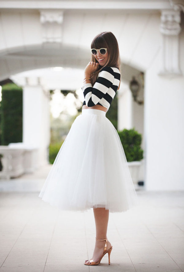 0458c81e The Tulle Skirt. It Doesn't Get More Feminine Than That - Just The ...