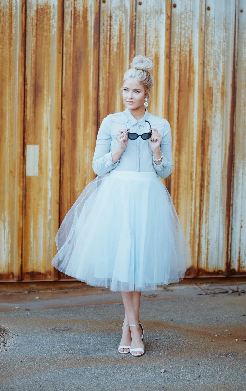 Wearing a Tulle Skirt