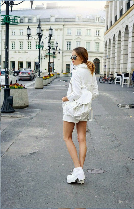 White-On-White Trend, Spring/Summer 2014