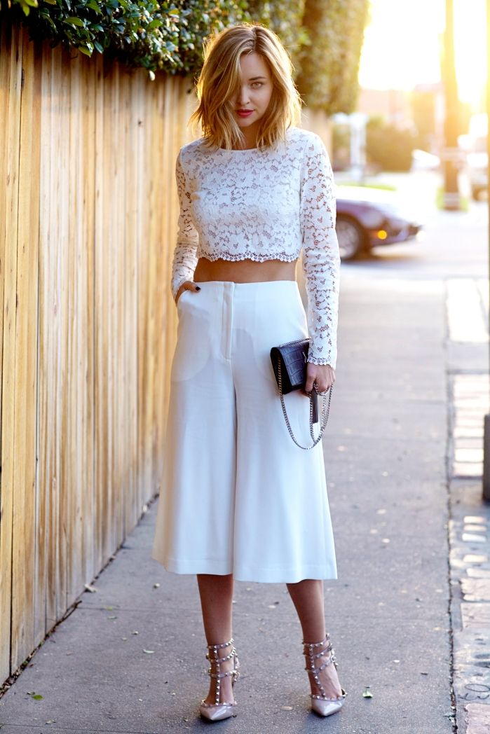 Culotte Shorts Fashion Trend, Spring/Summer 2015